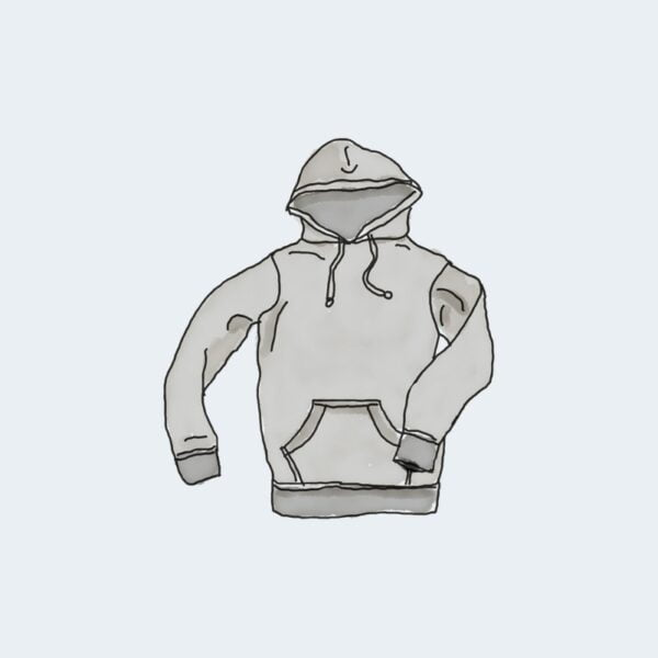 Hoodie with Pocket 1